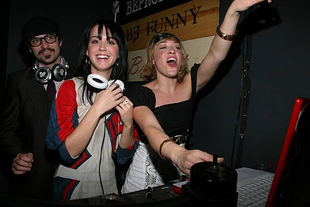 Katy Perry Guest DJ's At Gallery Bar 001