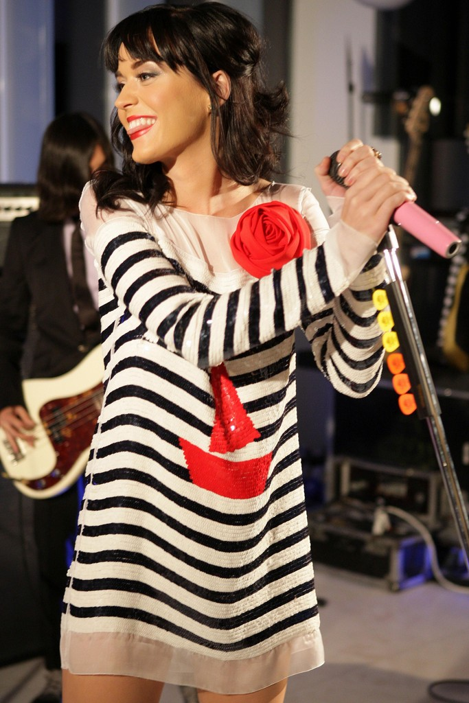 Katy Perry Showcase At D&G showroom 005