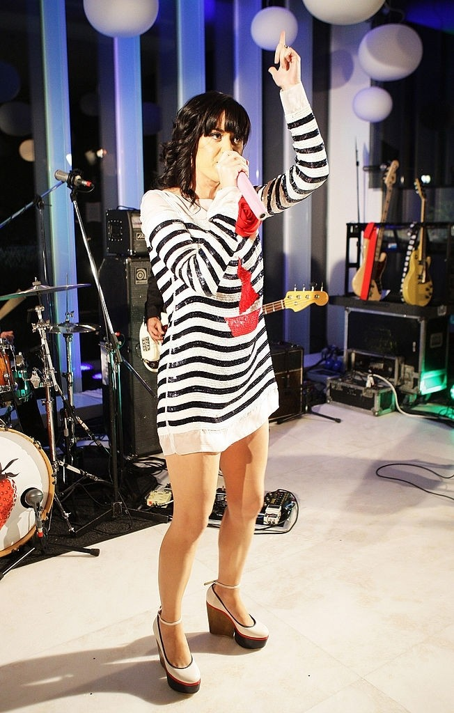 Katy Perry Showcase At D&G showroom 006